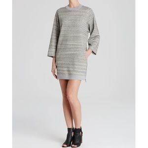 Vince Melange Gray Knit Dress XS